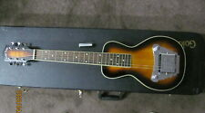 Gold Tone Lap Steel, case and tone bar