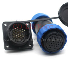 Sd28 26pin Waterproof Connector Aviation Circular Power Signal Plug Socket5a
