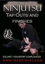 Ninjutsu Takedowns and Finishes - Martial Arts Self Defense Ninja Finishes