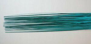 50 Blue Bear Onion Curl Spray Grass Blades for Arrangement Cake Deco