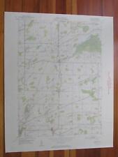 Byron New York 1952 Original Vintage USGS Topo Map