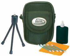 Digital Concepts 3 piece Digital Camera Starter Kit - Case Mini Tripod Clean Kit
