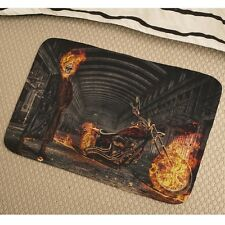 Ghost Skull Soft Absorbent Foam Non-slip Bathmat Bedroom Rug y41 y0181