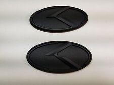 New Black 3D Logo EMBLEM Badge Sticker for Kia Rio 2011 2012 2013 2014 2015