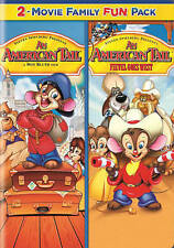 American Tail & Fievel Goes West - 2 Movie Family Fun Pack - Brand NEW DVD!!