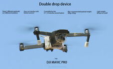 Double Drop & Delivery device for dji mavic pro. payload release, drone fishing