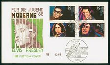 Mayfairstamps Germany FDC 1988 Musicians Combo Elvis Presley First Day Cover wwr