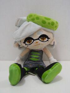 "Splatoon Squid Hotaru Marie Legit Inkling Sanei 2016 US Plush 9"" Toy Doll"