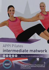 APPI Pilates DVD Intermediate Matwork Exercise Workout Posture Core Strength NHS