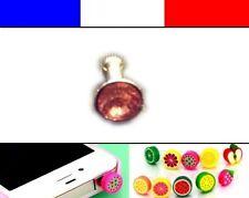 Cache anti-poussière jack universel iphone protection capuchon bouchon Diamant 7