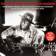 John Lee Hooker VERY BEST OF 45 Blues Songs ESSENTIAL COLLECTION New Sealed 2 CD