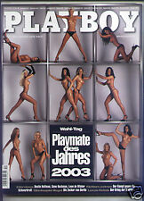 PLAYBOY D 12/2003 Dezember - Baywatch-Nixe Carmen Electra + Playmate-Kalender