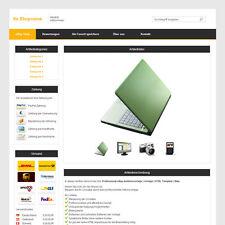 Professional eBay Auktionsvorlage | Vorlage | HTML Template | Orange