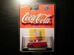M2 Machines Coca Cola DE01 1960 VW Double Cab Truck USA Model 18-44 Only 9,600