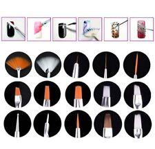 15X Design DIY Acrylic Painting Tool UV Gel Pen Polish Nail Art Brush Set Kit TO