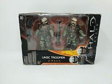Halo Reach Series 1 Unsc Trooper 2 Pack McFarlane Action Figures Brand New