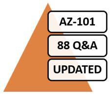AZ-101, 2019 Microsoft Azure 101, 67 + 21 NEW (88) Q&A, PDF FILE! Labs Included!