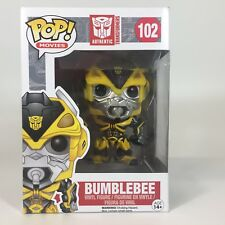 BUMBLEBEE Transformers 102 Funko Pop Vaulted/ Retired New Imperfect Box