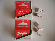 2 pairs Makita Carbon Brushes CB440 = CB448 BDF440 BDF441 BHP451