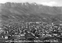 Cartolina L' Aquila Panorama e Gran Sasso