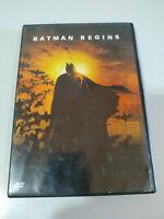 Batman Begins Christian Bale Christopher Nolan - DVD - REGION 2 AM