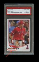 MIKE TROUT TOPPS AL ROOKIE OF THE YEAR CARD 1ST GRADED 10 LOS ANGELES ANGELS MVP