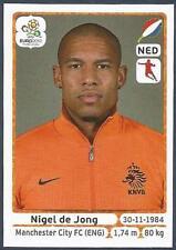 PANINI EURO 2012- #179-NEDERLAND-HOLLAND-MANCHESTER CITY-NIGEL DE JONG
