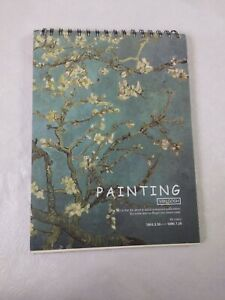 """PAINTING - SKETCH  Pad VAN GOGH 28 Pages 8.5"""" x 11.5""""  The Scenery #1853.3.30"""