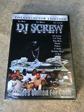 "DJ Screw ""Soldiers United For Cash"" (Collector's Edition) DVD /documentary movie"
