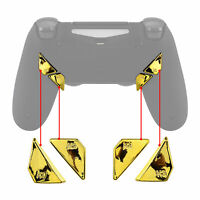 Custom Gold Back Buttons K1 K2 K3 K4 Keys Set for PS4 Controller DAWN Remap Kit
