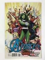 A-FORCE #1 (2015) | 1ST FIRST A-FORCE TEAM, SINGULARITY