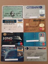 8 Expired Credit Cards For Collectors - MasterCard - VISA Lot (#1)