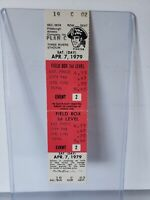 1979 World Series Championship Year Pittsburgh Pirates Full Ticket Vs Expos