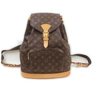 Louis Vuitton Back Pack Montsouris GM M51135 Browns Monogram 711448