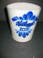 Eldreth Pottery Salt Glazed Stoneware Vase - 2015 Kellogg Collectible