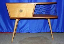Mid Century 60er Nierentisch Schrank Beistelltisch Telefontisch Kommode 75x30x60