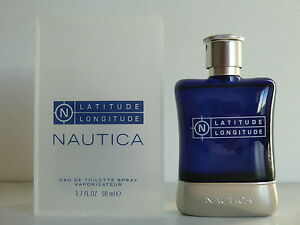Nautica Latitude Longitude EDT Nat Spray 50ml - 1.7 Oz NIB Retail Box