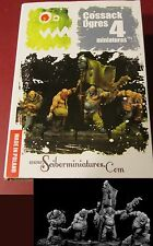 Scibor OGCO0022 Ogre Cossack Set #2 (4) Miniatures Warrior Command Mercenaries