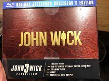 John Wick 3 Parabellum Blu-ray Steelbook Limited Collector's Edition Box
