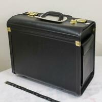 U.S. Luggage Rolling Catalog Case Polyvinyl Black jp