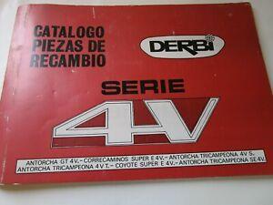 DERBI 49cc ANTORCHA GT 4 V,COYOTE SUPER E 4V ETC.  PARTS CATALOGUE