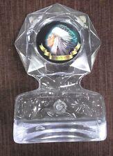 Indian Award clear ice  acrylic trophy award mascot
