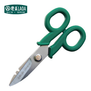 Stainless Steel Scissors High Quality Electrician scissors for Wire Knife