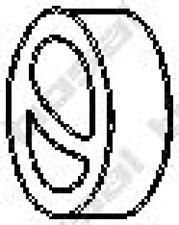 Gummistreifen, Abgasanlage für Abgasanlage BOSAL 255-766