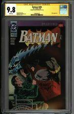 * BATMAN #499 CGC 9.8 SS Kelley Jones Knightfall Part 17 BANE! (1960483022) *