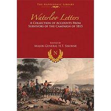 Waterloo Letters by H. T. Siborne (Hardback, 2015)