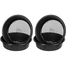 More details for 2 x wham 35cm garden sieve black, ideal for sifting soil, remove unwanted debris
