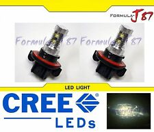 LED 50W 9008 H13 Stock 3000K Two Bulbs Head Light Replacement Snowmobile