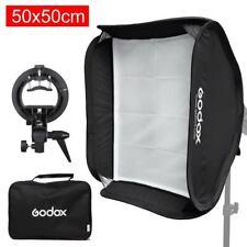 50x50cm 16'' Softbox + S-type Bracket Holder Bowens Mount for Godox AD200 AD-200