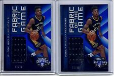 2016-17 Totally Certified Jersey RC Lot (2) BUDDY HIELD /99 FOTG 01/99 & 42/99